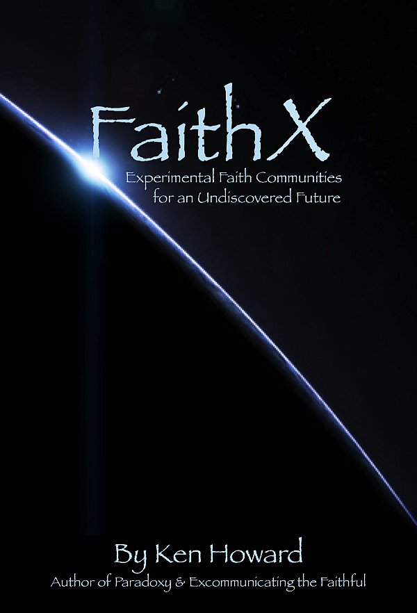 FaithX Book Cover - Undiscovered Future-T49web